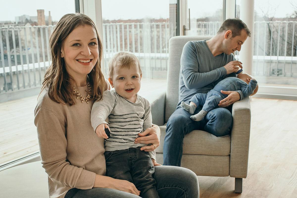 Anna Silinger - Gründerin und Geschäftsführerin von BabyFORTE